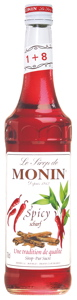 Monin Sirup Spicy (-30%; MHD 5/2013)