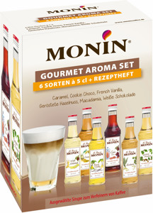 Monin Sirup Mini-Kaffee-Set