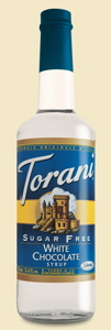 Torani Sirup White Chocolate